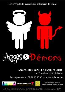 affiche 2011 AVD